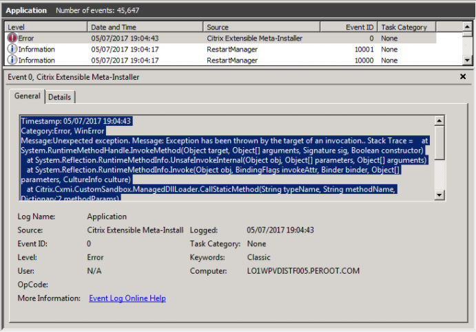 Citrix Storefront Upgrade Failure 2 x to 3 9 - JS Consulting Services